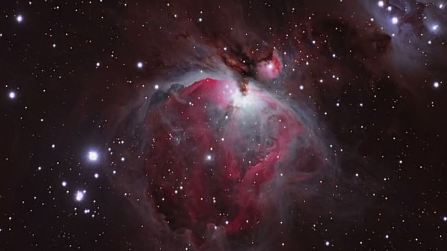M42 Orion Nebel Banner