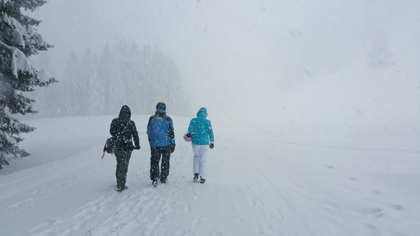 Auf dem Weg zum Berggasthof Hochbühl